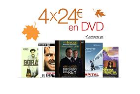 4 dvd's por 24€ en Amazon