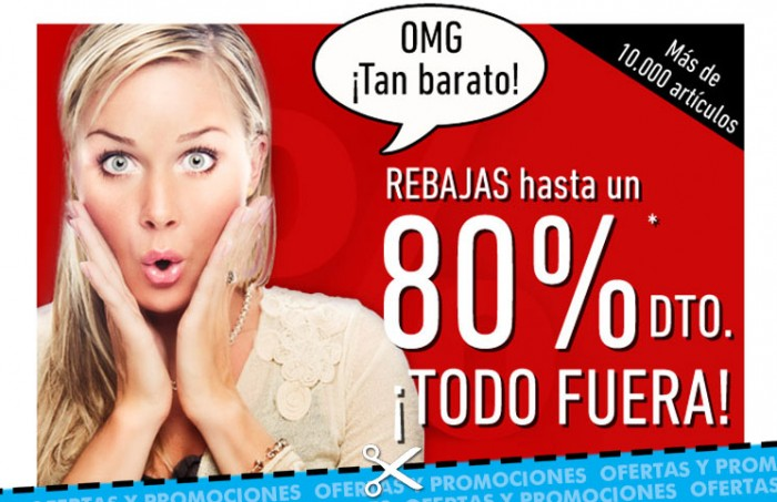 Rebajas en Dress-for-less con descuentos de hasta el 80% en moda