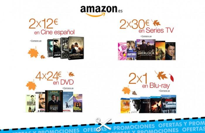 Oferton de Amazon en series y películas en Blu-Ray, DVD, series y cine español