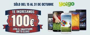 Días locos de Phone House con 100€ de ahorro con Yoigo