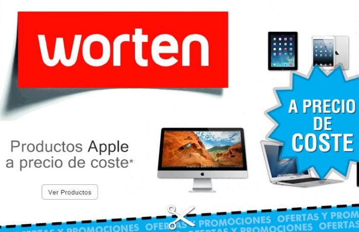 Ordenadores de Apple a precio de coste en Worten