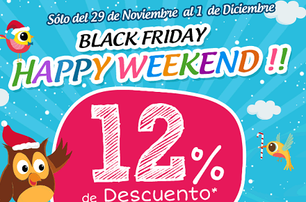 Ofertas y descuentos de Eureka Kids durante en Black Friday