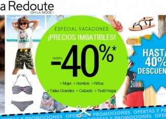 Descuentos de hasta 40% en moda en La Redoute