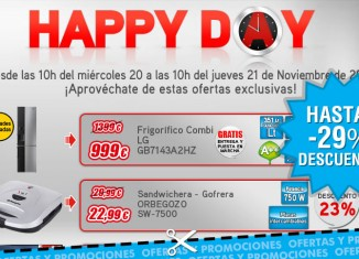 Happy Day de Worten con descuentos de hasta el 29%