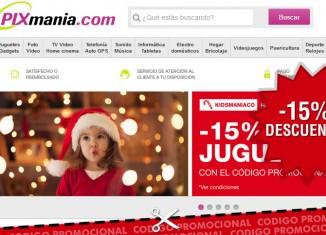 Código promocional del 15% de descuento Pixmania en juguetes