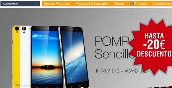Nuevos códigos promocionales con Comebuy de hasta 20€ de descuento