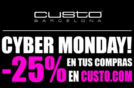Cyber Monday en Custo con -25% en su tienda online