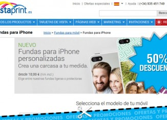 Fundas de iPhone con tu foto totalmente personalizada con un 50% de descuento en VistaPrint