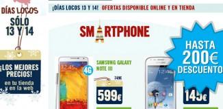 Nuevos Días Locos en Phone House con descuentos en tablets y smartphone de Samsung Galaxy y Sony Xperia