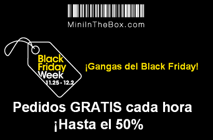 Cyber Monday en Mini in the Box
