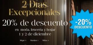 Rebajas en Mark's & Spencer con un descuento del 20% en hogar, moda y lencería