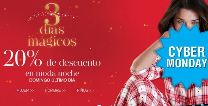 Dias mágicos de Marks Spencer con un desucneto del 20% en pijamas, bufandas, guantes y sombreros