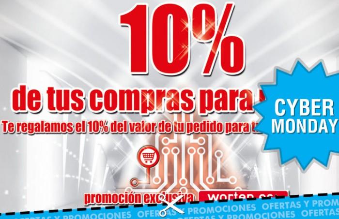 Promocion de Worten donde os devuelven un 10% de vuestra compra