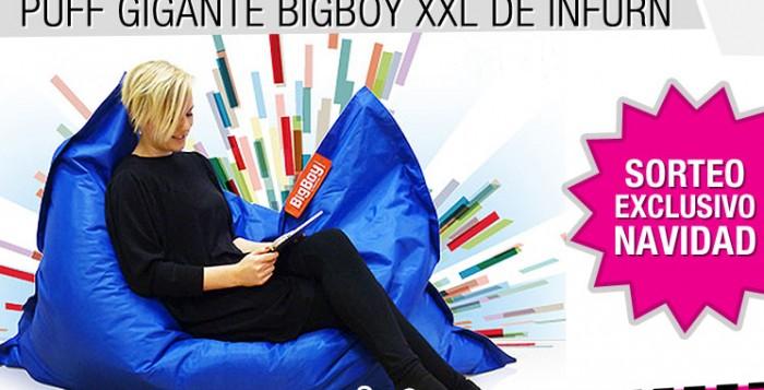 Sorteo especial Navidad 2013: Gana un Puff Gigante BigBoy XXL de Infurn!