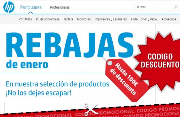 Código descuento HP Store y rebajas