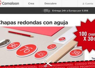 Código promocional Camaloon de 100 chapas x 30€