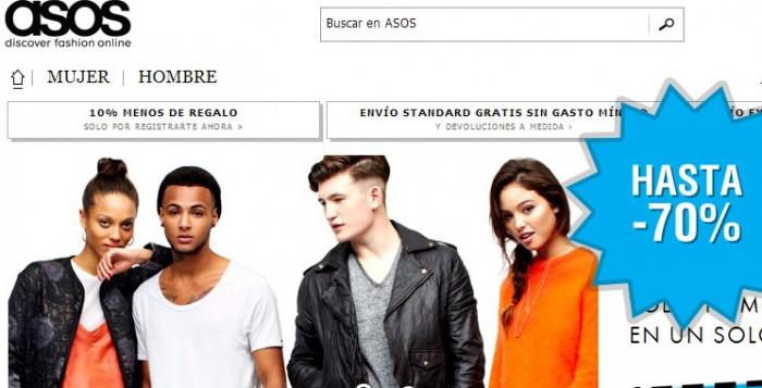 Llegan las rebajas a la tienda online de moda Asos con descuentazos de hasta el 70%