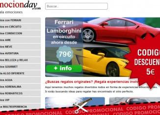 Código promocional de EmocionDay de 5€ de descuento