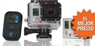 El mejor precio para la videocámara GoPro HERO3