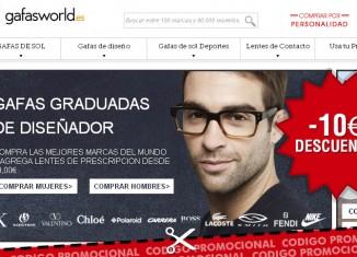 Cupon descuento de GafasWorld para el Dia del Padre con 10€ de ahorro