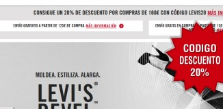 Código descuento Levis de 20%