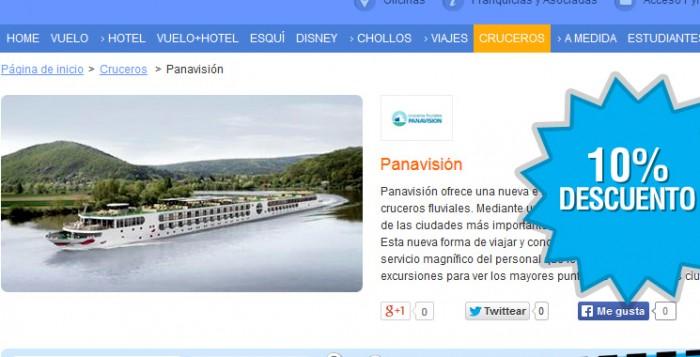 10% Descuento Barceló Viajes en cruceros
