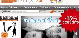 Codigo promocional de MegaGadgets con un 15% de descuento en toda la web para el Día del Padre
