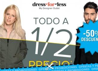 Rebajas del 50% en moda en Dress-for-less