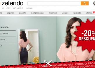 Codigo promocional de Zalando con un 20% de descuento en moda