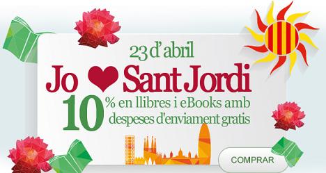 Día del Libro en Casa del Libro con 10% descuento y envios gratis