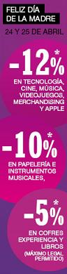 Día de la madre en Fnac con descuentos de hastael 12% en sus categorías