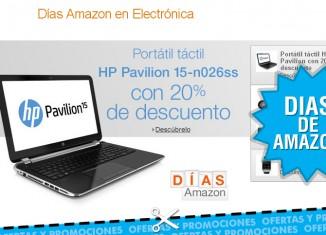 Días de electrónica e informática en Amazon
