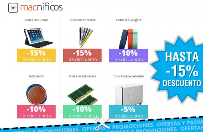 Descuentos de hasta el 15% en Macnificos Dia de Internet