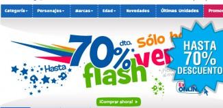 Ofertas Flash de ToysRUS con descuentos de hasta el 70%