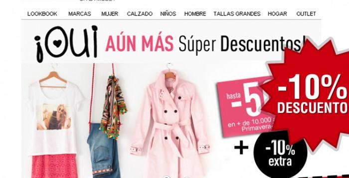 Cupon descuento moda La Redoute con -10% extra en Súper Descuentos