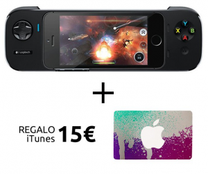 40% descuento en Logitech Controller para iPhone y 15€ regalo para iTunes