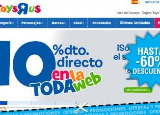 Semana de internet en Toys R Us con descuentos del 10% en juguetes