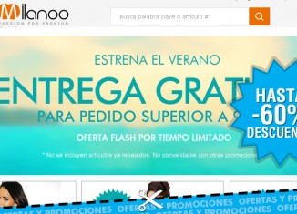 Oferta flash de Milanoo con envios gratis