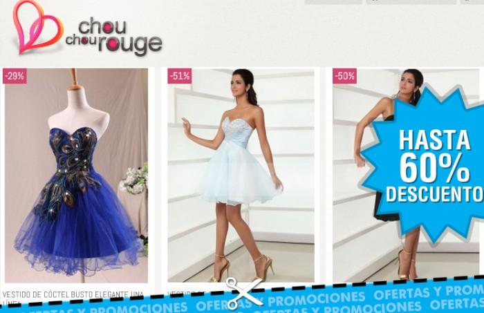Rebajas de hasta el 60% en Vestidos de Fiesta