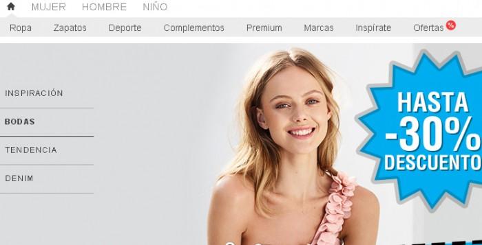 Promo de Zalando con hasta 30% descuento en moda