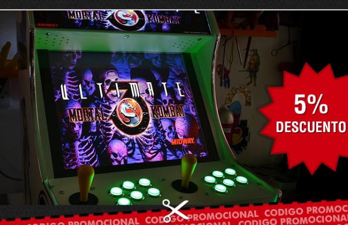 Arcade World código descuento 5%