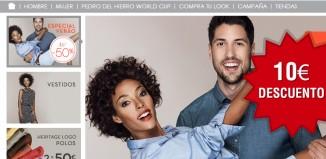 Código promocional de 10€ en Cortefiel