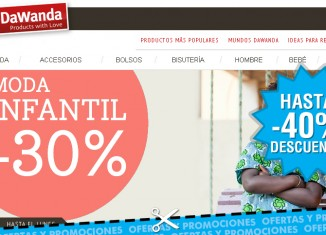 Rebajas en Dawanda con descuentos de hasta el 40%