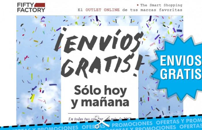 Envíos gratis Fifty Factory