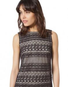 Vestido Crochet Cortefiel