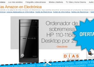 Días Amazon en Electrónica