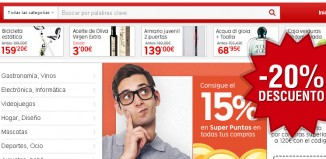 Cupones descuento de Rakuten con hasta 40€ de ahorro y 15% devolución en puntos