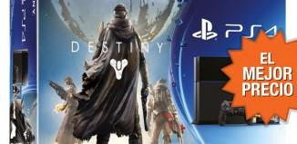 Mejor precio para Destiny + PS4 en el pack de Rakuten