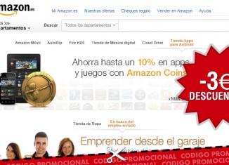 Código promocional de Amazon con 3€ de descuento en videojuegos