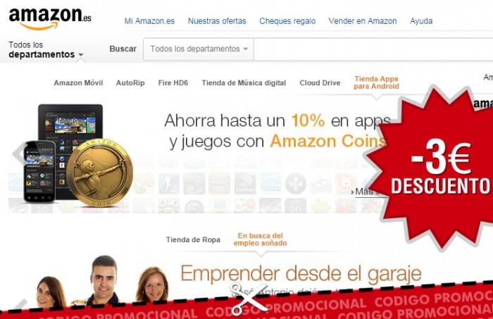 Código Promocional De Amazon Con 3 Descuento En Videojuegos